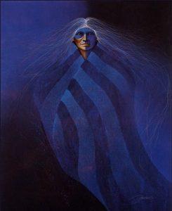 Lakota Blue Aura