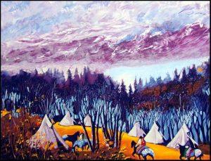 High Mountain Camp
