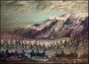 Winter Ponies of the Nez  Perce