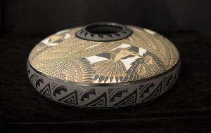 Geometric Hummingbird Jar