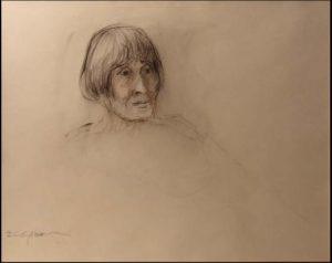 Portrait Study of Woman